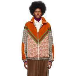 Gucci Orange Tiger Heads Sweater 192451M20201804GB