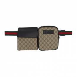 Gucci Beige GG Supreme Belt Bag 192451M17101701GB