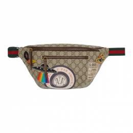 Gucci Beige GG Supreme Courier Belt Bag 192451M17101901GB