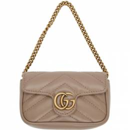 Gucci Pink GG Marmont Coin Case Bag 575161 DTDCT