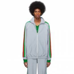 Gucci Silver Reflective Sweater 192451M20400807GB