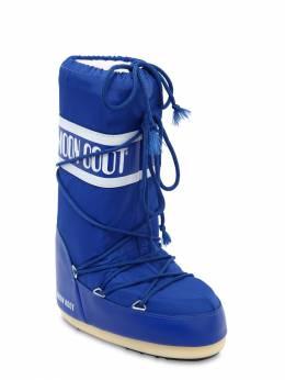 Сапоги Из Нейлона Moon Boot 70I0N5003-MDc10