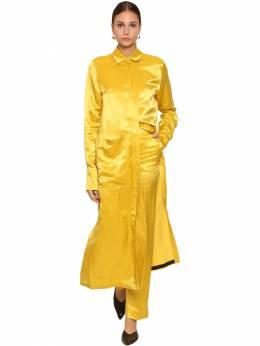 Рубашка-платье Из Вискозы Jil Sander 70I0HU009-NzE10