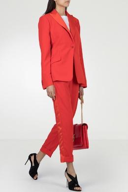 Брючный костюм красного цвета P.a.r.o.s.h. 393145979