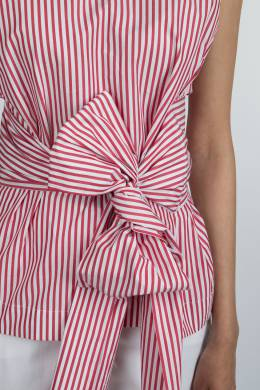 Блузка в полоску с завязкой P.a.r.o.s.h. 393145976