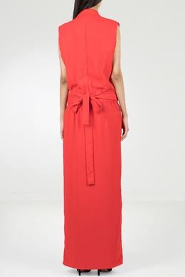 Красное платье-макси с запахом P.a.r.o.s.h. 393145960