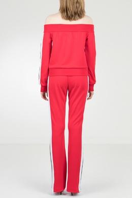 Красный костюм с открытыми плечами Palm Angels 1864145945