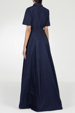 Синее платье-макси P.a.r.o.s.h. 393145957