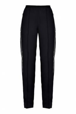 Черные брюки с контрастными лампасами Pinko 2198145934