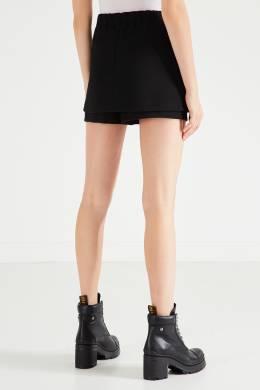 Черные шорты-юбка Maje 888146241