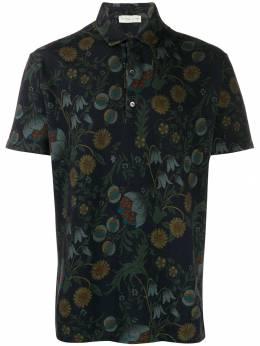 Etro классическая рубашка-поло 1Y8005561