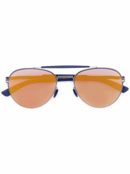 Mykita солнцезащитные очки 'Mylon Sun Sloe' SLOEMH4NAVYNAVYGOLD