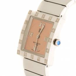 Givenchy Peach Stainless Steel Apsaras Women's Wristwatch 27 mm 216592