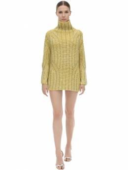 Короткое Трикотажное Платье Ermanno Scervino 70I5KT038-NTA3NDM1