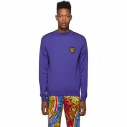 Moschino Blue Teddy Crewneck Sweater 0902 5200