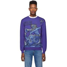 Moschino Purple Neptune Sweater 0912 5200