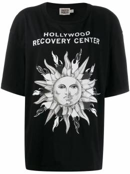 Fausto Puglisi футболка Hollywood Recovery Center FPU7188VP0516