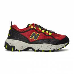 New Balance Red and Black 801 Sneakers 192402M23702403GB