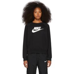 Nike Black Logo Crewneck Sweatshirt BV4112-010