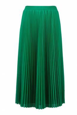 Плиссированная юбка зеленого цвета Red Valentino 986146861