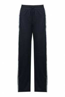 Черные брюки-джоггеры с лампасами Red Valentino 986146893