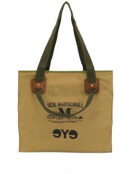 Junya Watanabe Man сумка-шопер с надписью WDK292W19