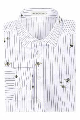 Рубашка с контрастными рисунками Etro 907145284