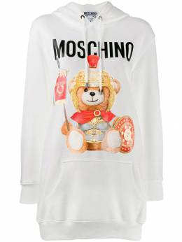 Moschino худи Teddy Bear с логотипом V04275527