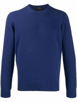 Dell'oglio кашемировый свитер с круглым вырезом Y24105