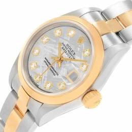 Rolex Meteorite 18K Yellow Gold and Stainless Steel Datejust 79163 Women's Wristwatch 26MM 219144