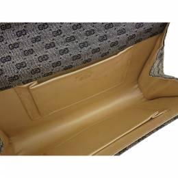 Gucci Gray/Black GG Canvas Clutch Bag 218187
