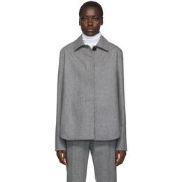 Jil Sander Grey Boxy Shirt JPPP150121 WP212500C