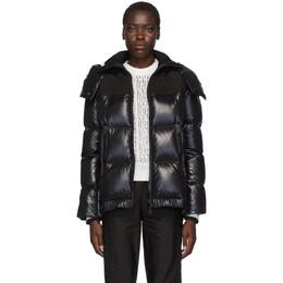 Moncler Black Wouri Hooded Down Jacket E20934682085C0066