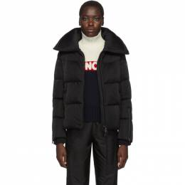 Moncler Black Bandama Shimmer Down Jacket E20934684885C0292