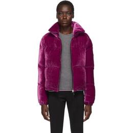 Moncler Purple Down Rimac Jacket E20934591500C0293