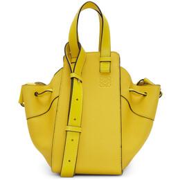 Loewe Yellow Small Drawstring Hammock Bag 192677F04810601GB