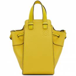 Loewe Yellow Mini Hammock Drawstring Bag 192677F04811101GB