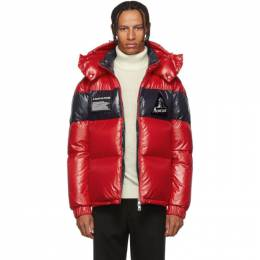 Moncler Red Down Gary Jacket 192111M17801902GB
