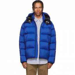 Moncler Blue Down Wilms Jacket 192111M17802407GB