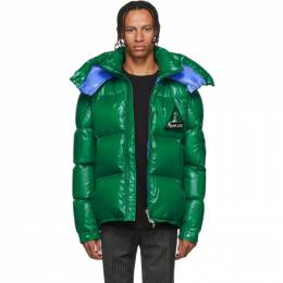 Moncler Green Down Wilson Jacket 192111M17802007GB