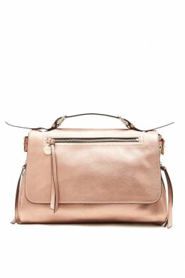 Коричневая сумка с эффектом металлик Red Valentino 986147034
