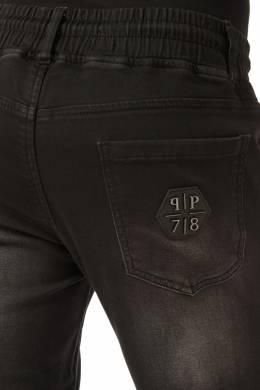 Спортивные джинсы с декором Philipp Plein 1795147297