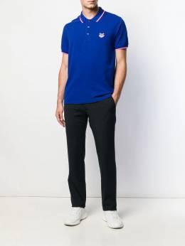 Kenzo рубашка-поло с вышивкой Tiger F665PO0014BA