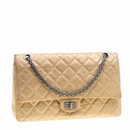 Chanel Gold Reissue 2.55 Quilted Leather 226 Flap Bag 200980