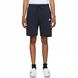 Nike Navy Tech Fleece Shorts 928513