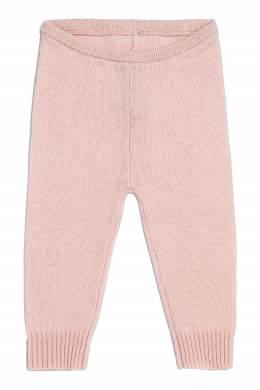 Вязаные брюки розового цвета Bonpoint 1210147417