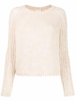 Forte_Forte свитер фактурной вязки 6838MYKNIT