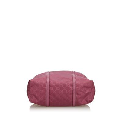 Gucci Pink Nylon GG Tote Bag 181997 - 3