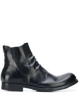 Officine Creative ботинки с эффектом потертости OCUBUBB029NOVAK
