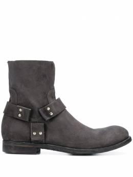 Officine Creative массивные ботинки на молнии OCUARBU017HUNT